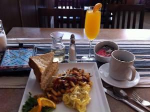 Breakfast of (weary) champions