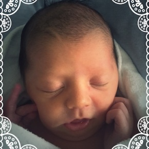 Our new granddaughter…
