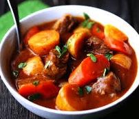 Stew for breakfast…