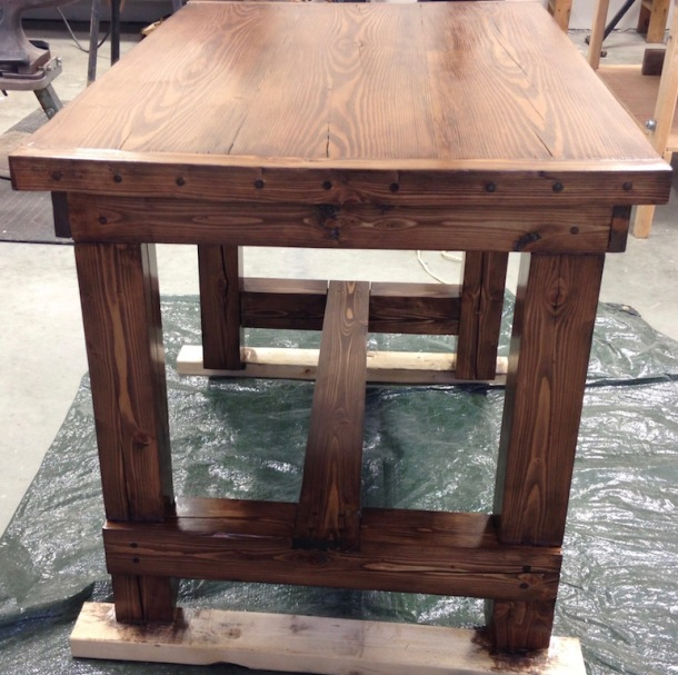 New House - table