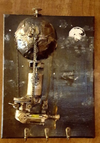 Steampunk gift for Kelly & Sandra James