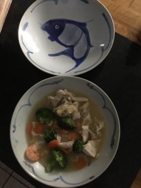 Wonton Soup …