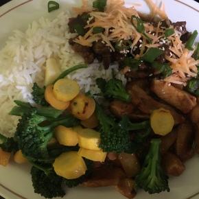 Quasi Chinese Dinner…